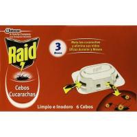 Cebo cucarachas RAID, caja 6 unid.