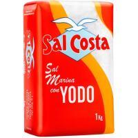 Sal con yodo COSTA, paquete 1 kg