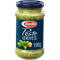 Salsa Pesto Genovese BARILLA, frasco 190 g