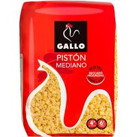 Pasta pistón mediano GALLO, paquete 500 g