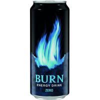 Bebida energética Burn Zero BURN, lata 50 cl