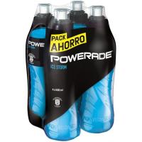 Bebida isotónica Ice Storm POWERADE, pack 4x50 cl