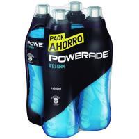Bebida isotónica Ice Storm POWERADE, pack 4x50 cl