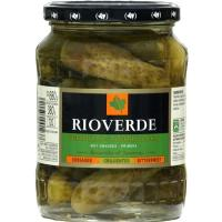 Pepinillos agridulces RIOVERDE, frasco 380 g