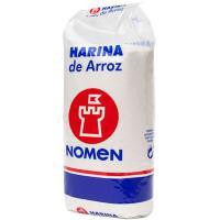 Harina de arroz NOMEN, paquete 250 g