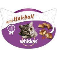 Snack bola de pelo para gato WHISKAS, tarrina 60 g