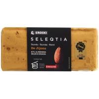 Turrón blando Eroski SELEQTIA, tableta 300 g