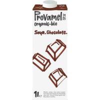 Bebida de soja-chocolate PROVAMEL, brik 1 litro
