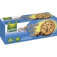 Galleta Digestive de avena con chocolate GULLÓN, caja 425 g