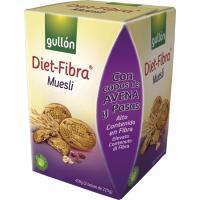 Galleta con muesli GULLÓN Diet Fibra, caja 500 g