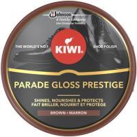 Betún  color marrón oscuro KIWI, lata 50 ml