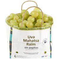 Uva blanca sin semilla, al peso, compra mínima 500 g