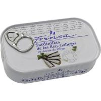 Sardinilla de rías gallegas en a. de oliva FRINSA, lata 120 g
