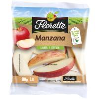 Snack de manzana FLORETTE, bolsa 80 g
