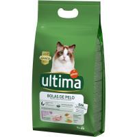 Control bolas de pelo para gato ULTIMA, saco 3 kg