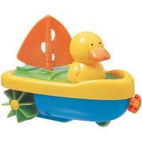 Juguete de baño capitán pato TIGEX