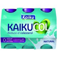 Reductor de colesterol natural KAIKUCOL Zero, pack 6x65 ml