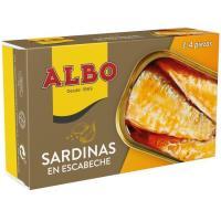 Sardina en escabeche ALBO, lata 125 g