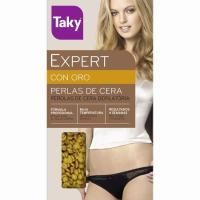 Cera depilatoria en perlas TAKY Oro, caja 200 g