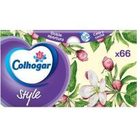 Pañuelo facial blanco 3 capas COLHOGAR, caja 66 uds.