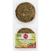 Vegeburger de tofu-espinaca TOKIECO, paquete 160 g