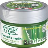 Mascarilla de aloe-enebro NATURALEZA Y VIDA, tarro 200 ml