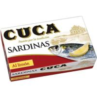 Sardina al limón CUCA, lata 120 g