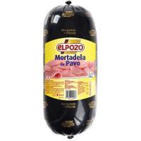 Mortadela de pavo ELPOZO, al corte, compra mínima 100 g