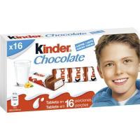 Chocolatina T16 KINDER, caja 200 g