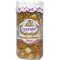 Macedonía de verduras LEYENDA, frasco 400 g