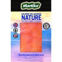 Salmón nature sin ahumar MARTIKO, sobre 80 g