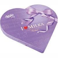 Bombones MILKA I Love, caja 187 g