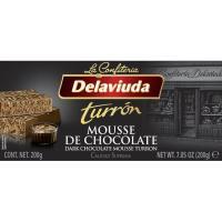 Praliné mousse de chocolate DELAVIUDA, caja 200 g
