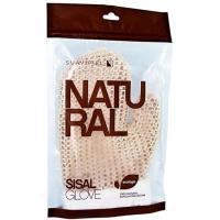 Guante sisal natural SUAVIPIEL, pack 1 ud.