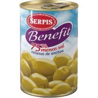 Aceitunas SERPIS Benefit, lata 130 g