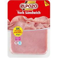 Fiambre para sandwich ELPOZO, bandeja 225 g