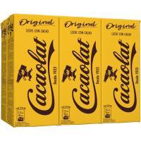 Batido de cacao CACAOLAT, pack 6x200 ml