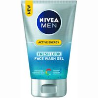 Gel limpiador tonificante NIVEA For Men, tubo 100 ml