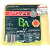 Queso Idiazabal natural D.O. BAGA, cuña 250 g