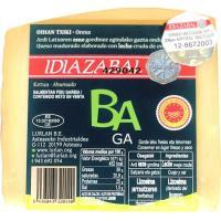 Queso ahumado D.O. Idiazabal BAGA, cuña 250 g