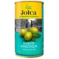 Aceitunas verdes con anchoa JOLCA, lata 185 g