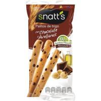 Palitos de cereales con chocolate-avellana SNATT`S, bolsa 68 g