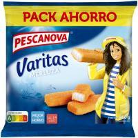 Varitas de merluza empanadas PESCANOVA, caja 450 g