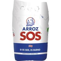 Arroz redondo SOS, bolsa 2 kg