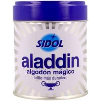Limpiametales en algodón SIDOL ALADIN, lata 75 g