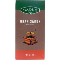 Café molido natural BAQUÉ Gran Sabor, paquete 250 g