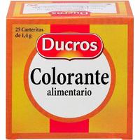 Carteritas colorante DUCROS, caja 35 g