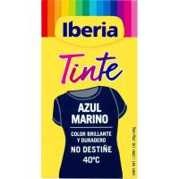 Tinte ropa azul IBERIA, pack 1 ud.