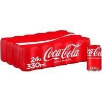 Refresco de cola COCA COLA, pack 24x33 cl