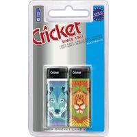 Encendedor pocket electrónico CRICKET, pack 2 unid.